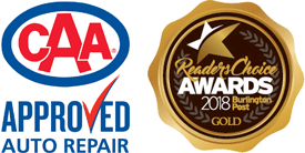 CAA Approved and Readers Choice Gold Award