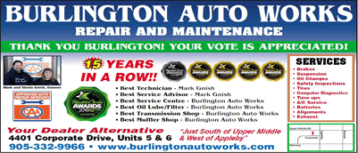 Burlington Auto Works