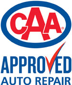 Burlington Auto Works is a CAA Approved Auto Repair Shop