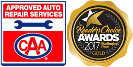 CAA Approved | Reader's Choice Gold Award